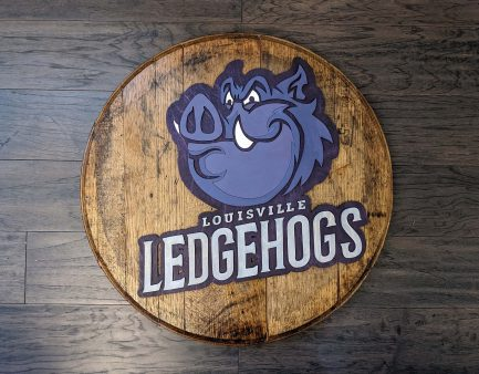 louisville-ledgehogs-logo-bourbon-barrel-head